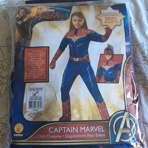 Captain Marvel kids Costume